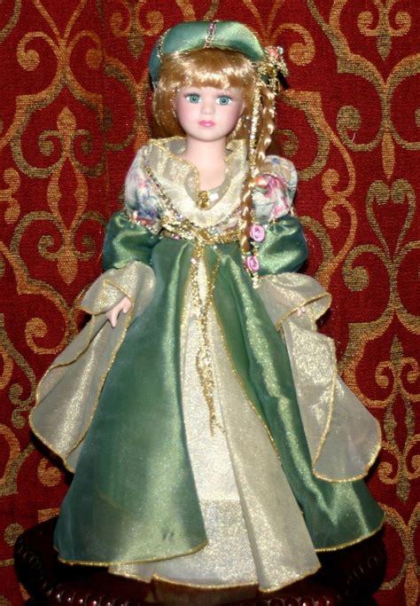 collection porcelain doll 76867 brass key collection porcelain rapunzel doll by
