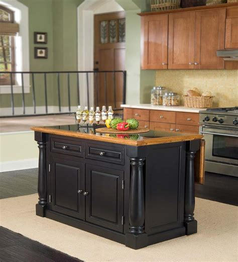 kitchen island black black kitchen island design kitchentoday