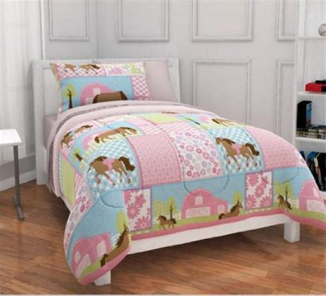 horse bedding for girls teen little girl horse bedding