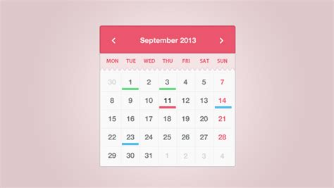 design calendar simple 25 free calendar psd design templates designmaz