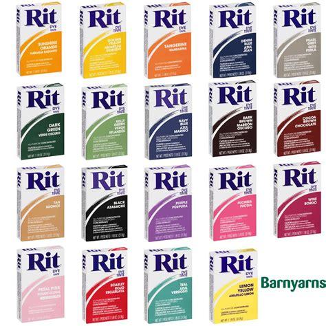 rit color dye rit dye powder 31 9g dyes fabrics based