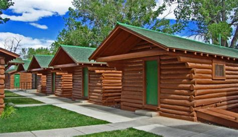 Lodging In Wyoming Cabin by Buffalo Bill Cabin At Buffalo Bill