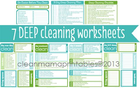 printable living area deep cleaning checklist mom it cleaning around the seasons deep cleaning on your