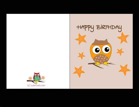 free birthday card templates to print free printable birthday cards for best friends template