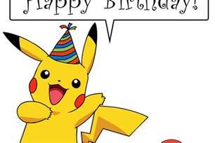 Pokemon Happy Birthday Clip Art Images   Pokemon Images