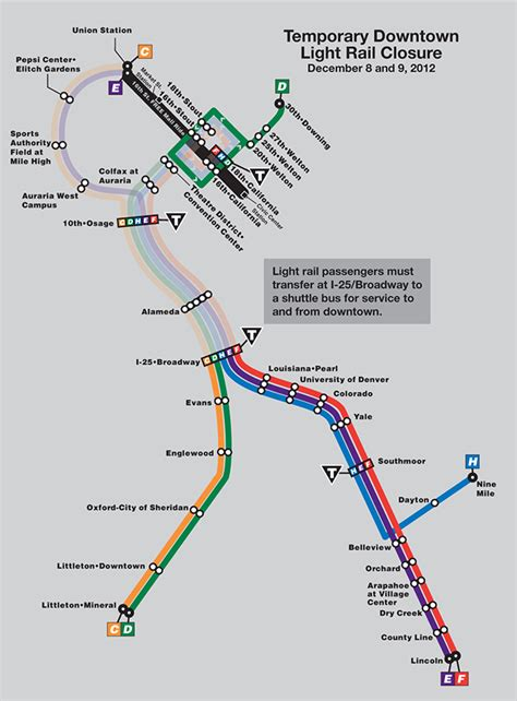 Denver Rtd Light Rail Map   Motorcycle Review and Galleries