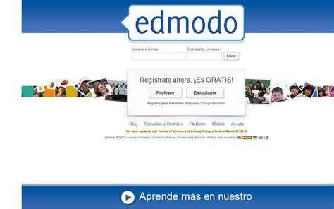 edmodo español monogr 193 fico redes sociales redes sociales educativas