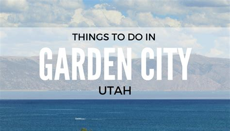 Garden City Utah Things To Do Category Archive For Quot Travel Quot Coupons 4 Utah