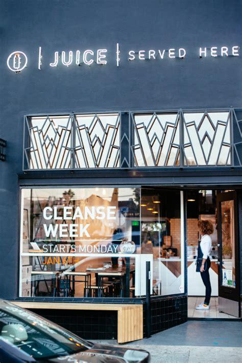 Design Milks New Shop Vitamin Design by A Modern Juice Bar Designed By Bells Whistles Design Milk