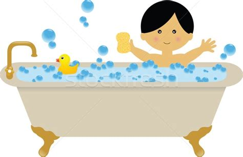 Toddler Bath Tub For Shower kid taking a bath clipart clipartsgram com