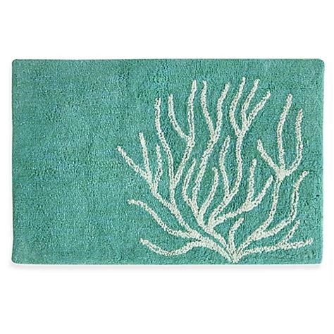 Buy Bathroom Rugs Buy 20 Inch X 30 Inch Bacova Coral Bath Rug From Bed Bath Beyond