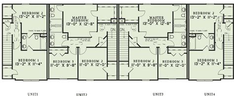 multi family apartment floor plans attractive four apartment dwelling 60557nd 2nd floor