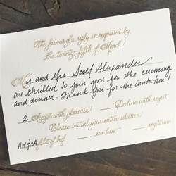 how to properly fill out an rsvp card wedding - How To Fill Out A Wedding Rsvp Card