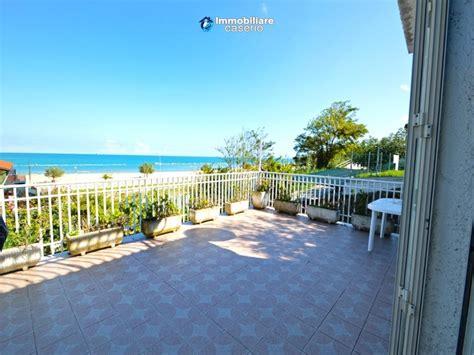 appartamenti vacanze mare abruzzo appartamento sul mare in vendita con terrazza panoramica