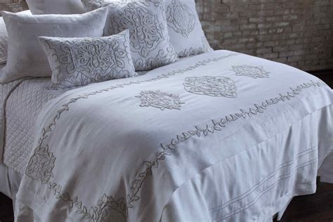 white linen bedding discontinued lili alessandra marrakech white linen with