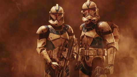 imagenes minimalistas de star wars fondo de pantalla soldados armados de star wars hd
