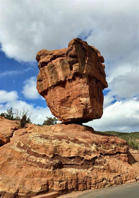 balancing rock garden of the gods balancing rock garden of the gods colorado 1163x813 oc