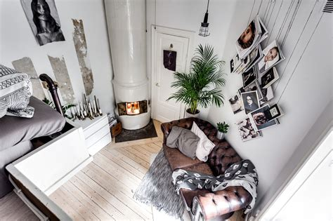 small cool a cool tiny studio apartment with loft bed gravity home