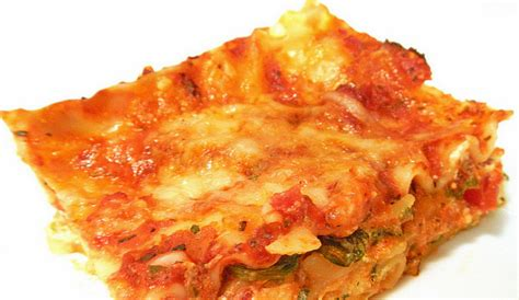 Toner Lasona spinach lasagna unl food