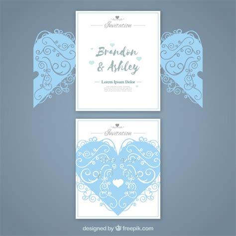 Wedding Card Freepik by Wedding Card With Laser Cut Vector Free