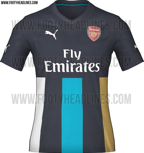 Jersey Arsenal 3rd 2015 2016 arsenal home and third shirts for 2015 16 season leaked