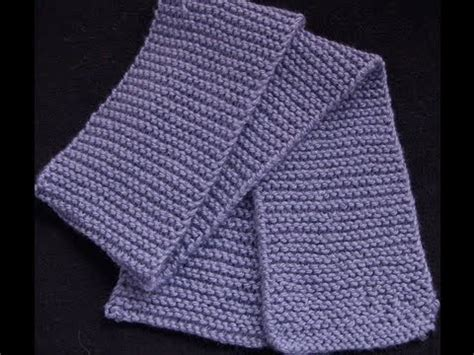 how to knit a muffler for beginners knit a garter stitch scarf