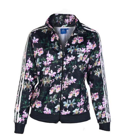 Jaket Adidas Floral jacket adidas floral print jacket wheretoget