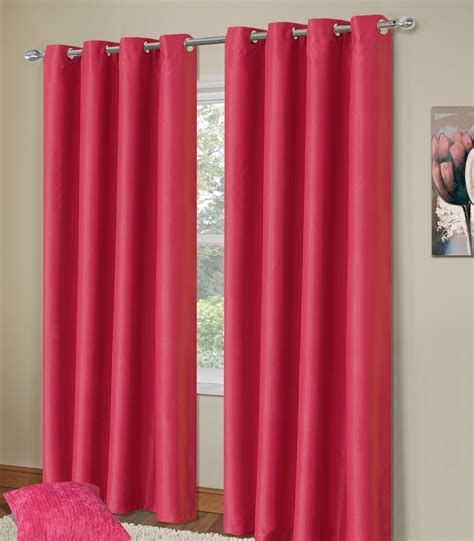 fushia pink curtains plain fuschia pink colour thermal blackout bedroom
