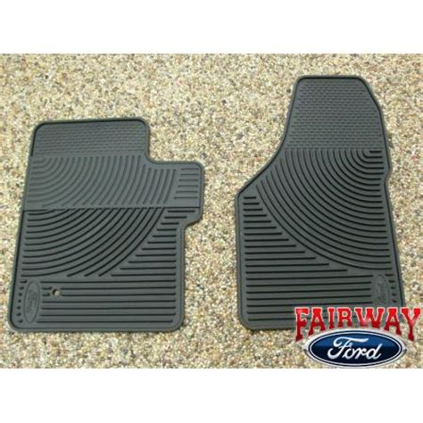 06 07 08 09 10 duty f250 f350 oem ford rubber floor