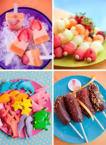 one charming party birthday party ideas water party food