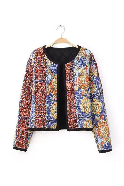 Batik Blazer goodnight macaroon batik quilted cotton jacket 69 00 usd batik batik quilts