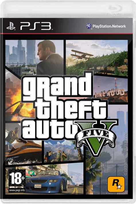 Grand Theft Auto V Ps3 by Grand Theft Auto V Ps3 Cover By Interglobalfilms On Deviantart