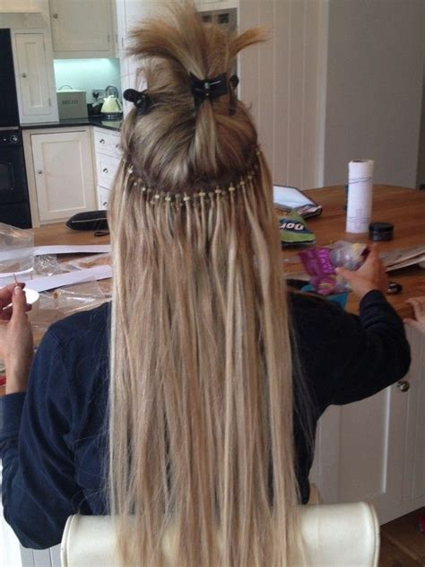 microloop extension bobs 17 best ideas about micro loop hair extensions on