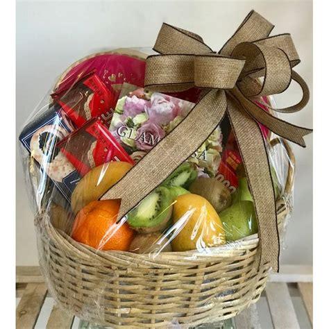 fruit basket  edible arrangements maplewood florist