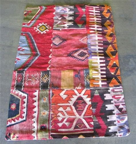 Kilim Patchwork Rug - patchwork kilim rug eclectic rugs by the loaded trunk