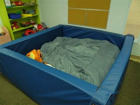 delong bed and biscuit backyard foam pit foam crash pit sensory room pinterest