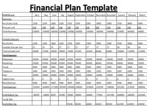 Financial Business Plan Template Excel by 8 Financial Plan Templates Excel Excel Templates