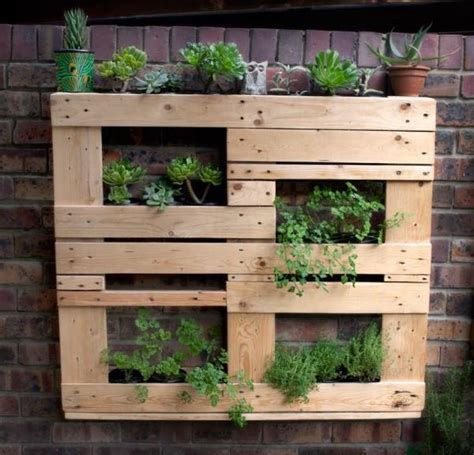 attractive pallet vertical planter ideas pallets designs