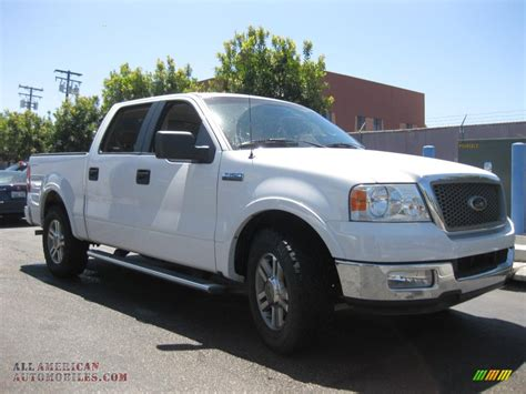 2005 Ford F150 Lariat by 2005 Ford F150 Lariat Supercrew In Oxford White B02024