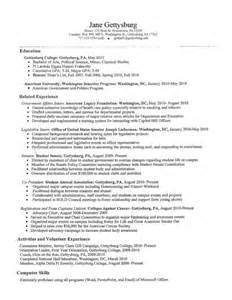 put high school on resume sles of resumes