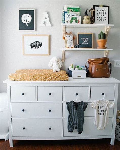 Nursery Decorating Ideas On A Budget Best 25 Changing Table Dresser Ideas On Pinterest Changing Tables Changing Table Storage And