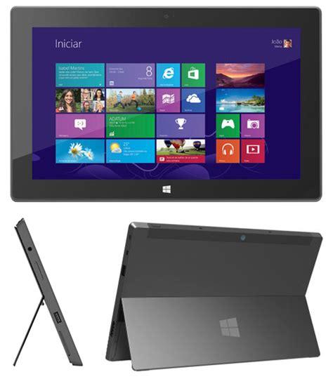 Tablet Microsoft Surface Windows Rt microsoft surface rt 32gb tablet windows comprar na