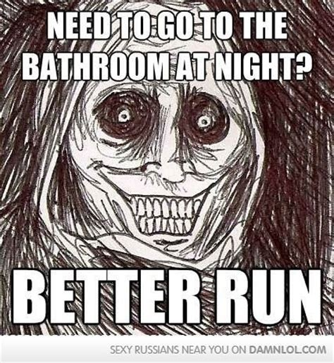 going to the bathroom at night 30 very funny weird meme images and photos