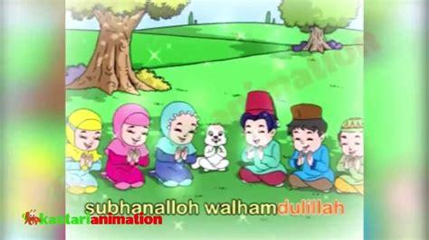 film kartun anak muslim diva lagu anak indonesia rukun islam bersama diva kastari