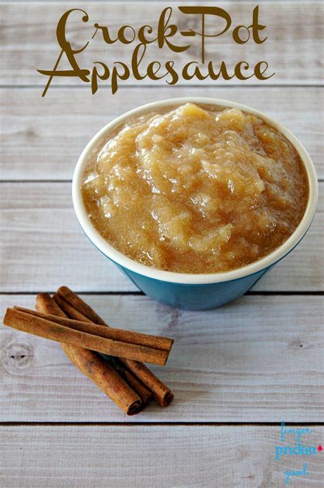 crock pot applesauce recipe dishmaps