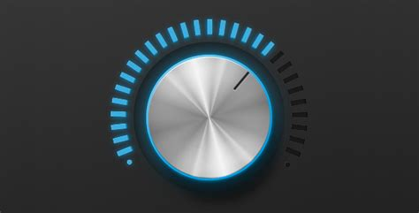 Volume Knob by 40 Outstanding User Interface Knobs Soultravelmultimedia