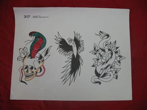 spaulding tattoo 1978 spaulding rogers flash skull snake page 317 ebay