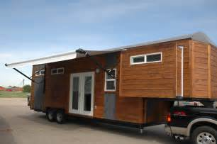 Tiny Home On Trailer by Gooseneck Trailer Tiny House