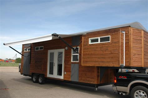 tiny houses on trailers gooseneck trailer tiny house