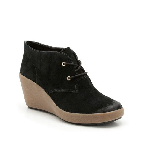 clarks black wedges boots buy s boots best price